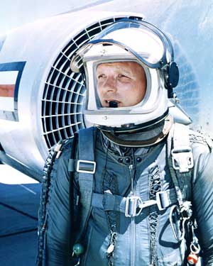 Michigan Astronaut Iven Carl Kincheloe