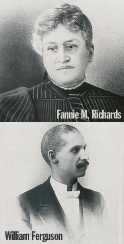 Fannie Richards & William Ferguson