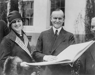 President & Mrs Coolidge receive invitation to Mackinac Island