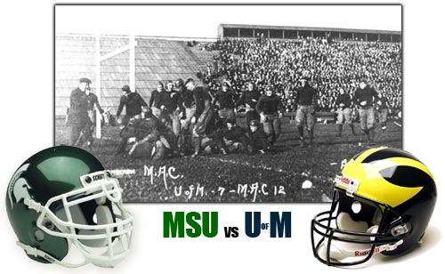 Michigan State vs University of Michigan Football