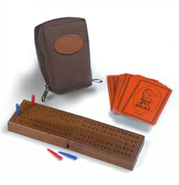 Travel Folding Cribbage Set from Drueke