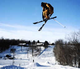 Big Air at Swiss Valley