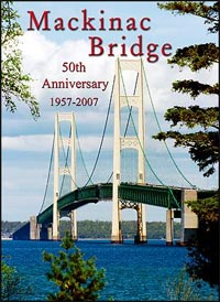 Mackinac Bridge puzzle by Barn House Puzzle