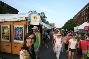 Ann Arbor Street Fair by Photo Credit Peter Leix