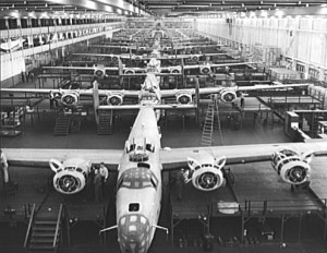 willow-run-bomber-production
