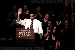 Senator Barack Obama in Michigan  #3 by radiospike photography