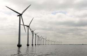 Middelgruden Offshore Wind Farm in Denmark