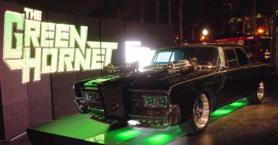 The Green Hornet's car, the Black Beauty. Photo by Bill Johnson. Taken at San Diego Comicon, July 2010.