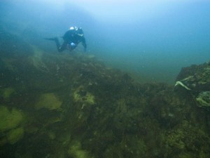 Researchers are exploring sinkholes in Lake Huron off the coast of Alpena, Mich. Photo: NOAA