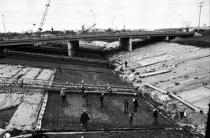 rouge river channel construction