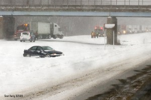 I-96 Westbound Closed by p912s (Scot)